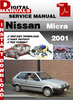 Thumbnail Nissan Micra 2001 Factory Service Repair Manual