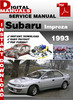 Thumbnail Subaru Impreza 1993 Factory Service Repair Manual