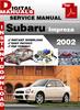 Thumbnail Subaru Impreza 2002 Factory Service Repair Manual