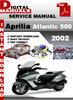Thumbnail Aprilia Atlantic 500 2002 Factory Service Repair Manual