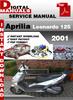 Thumbnail Aprilia Leonardo 125 2001 Factory Service Repair Manual