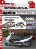 Thumbnail Aprilia Leonardo 125 2003 Factory Service Repair Manual