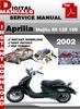 Thumbnail Aprilia Mojito 50 125 150 2002 Factory Service Repair Manual