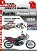 Thumbnail Aprilia Pegaso 650 1998 Factory Service Repair Manual