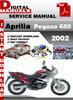 Thumbnail Aprilia Pegaso 650 2002 Factory Service Repair Manual