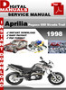 Thumbnail Aprilia Pegaso 650 Strada Trail 1998 Factory Service Repair