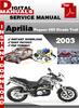 Thumbnail Aprilia Pegaso 650 Strada Trail 2003 Factory Service Repair Manual