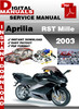 Thumbnail Aprilia RST Mille 2003 Factory Service Repair Manual