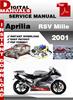 Thumbnail Aprilia RSV Mille 2001 Factory Service Repair Manual