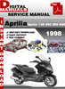 Thumbnail Atlantic Sprint 125 200 250 500 1998 Factory Service Repair