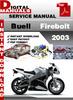 Thumbnail Buell Firebolt 2003 Factory Service Repair Manual