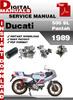 Thumbnail Ducati 500 SL Pantah 1989 Factory Service Repair Manual