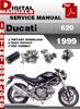 Thumbnail Ducati 620 1999 Factory Service Repair Manual
