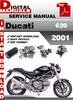 Thumbnail Ducati 620 2001 Factory Service Repair Manual