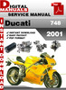 Thumbnail Ducati 748 2001 Factory Service Repair Manual
