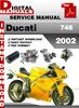 Thumbnail Ducati 748 2002 Factory Service Repair Manual