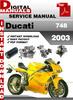Thumbnail Ducati 748 2003 Factory Service Repair Manual