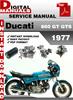 Thumbnail Ducati 860 GT GTS 1977 Factory Service Repair Manual