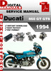 Thumbnail Ducati 860 GT GTS 1994 Factory Service Repair Manual