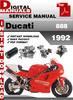 Thumbnail Ducati 888 1992 Factory Service Repair Manual