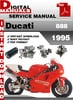 Thumbnail Ducati 888 1995 Factory Service Repair Manual