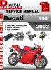 Thumbnail Ducati 996 2003 Factory Service Repair Manual