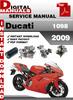Thumbnail Ducati 1098 2009 Factory Service Repair Manual