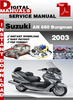 Thumbnail Suzuki AN 650 Burgman 2003 Factory Service Repair Manual Pdf