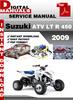 Thumbnail Suzuki ATV LT R 450 2009 Factory Service Repair Manual Pdf
