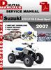 Thumbnail Suzuki ATV LT 90 Z Quad Sport 2007 Factory Service Repair Ma