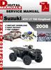 Thumbnail Suzuki ATV LT 750 KingQuad 2008 Factory Service Repair Manua