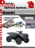 Thumbnail Suzuki ATV LT 750 KingQuad 2009 Factory Service Repair Manua