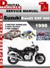Thumbnail Suzuki Bandit GSF 600 1998 Factory Service Repair Manual Pdf