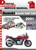 Thumbnail Suzuki Bandit GSF 650 2001 Factory Service Repair Manual Pdf