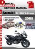 Thumbnail Suzuki DL 650 V-Storm 2005 Factory Service Repair Manual Pdf