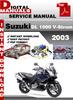Thumbnail Suzuki DL 1000 V-Strom 2003 Factory Service Repair Manual Pd