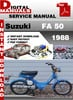 Thumbnail Suzuki FA 50 1988 Factory Service Repair Manual Pdf