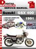 Thumbnail Suzuki GSX 400 1991 Factory Service Repair Manual Pdf