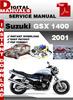 Thumbnail Suzuki GSX 1400 2001 Factory Service Repair Manual Pdf