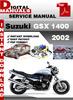 Thumbnail Suzuki GSX 1400 2002 Factory Service Repair Manual Pdf