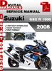 Thumbnail Suzuki GSX R 1000 2008 Factory Service Repair Manual Pdf