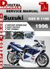 Thumbnail Suzuki GSX R 1100 1996 Factory Service Repair Manual Pdf