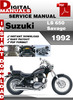 Thumbnail Suzuki LS 650 Savage 1992 Factory Service Repair Manual Pdf