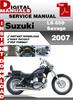 Thumbnail Suzuki LS 650 Savage 2007 Factory Service Repair Manual Pdf