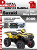 Thumbnail Suzuki LT 750 King Quad 2009 Factory Service Repair Manual P
