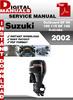 Thumbnail Suzuki Outboard DF 90 100 115 DF 140 4-stroke 2002 Factory S