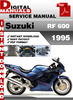 Thumbnail Suzuki RF 600 1995 Factory Service Repair Manual Pdf