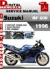 Thumbnail Suzuki RF 600 1996 Factory Service Repair Manual Pdf