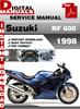 Thumbnail Suzuki RF 600 1998 Factory Service Repair Manual Pdf