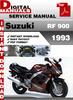 Thumbnail Suzuki RF 900 1993 Factory Service Repair Manual Pdf